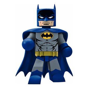 Figura Vinamates Vinyl DC Batman - Traje azul y gris