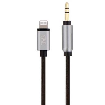 Cable T'nB Lightning a jack 3.5 mm