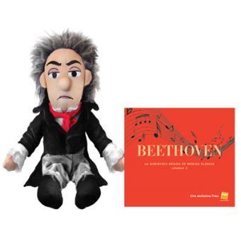 Muñeco Beethoven + CD La discoteca básica de música clásica Vol.3: Beethoven - Exclusiva Fnac