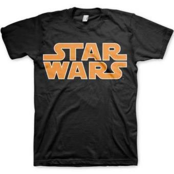Camiseta Star Wars Logo Clásico Talla XL
