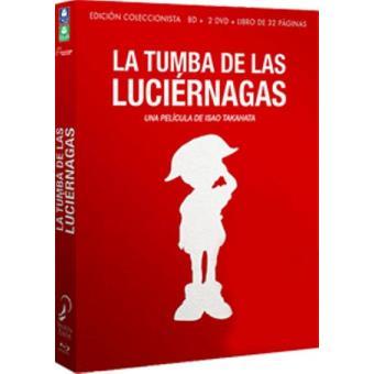 La tumba de las luciérnagas - Blu-Ray + DVD + Libro