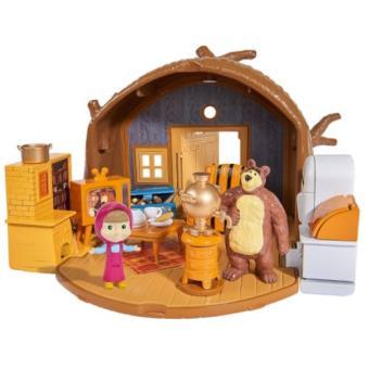 Masha y el oso. Playset casa del oso