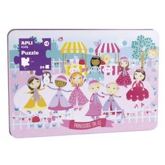 Puzzle Princesas sobre el hielo - 24 piezas