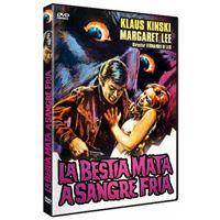 La bestia mata a sangre fría - DVD