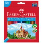 Lápices de colores Faber-Castell (48 colores)