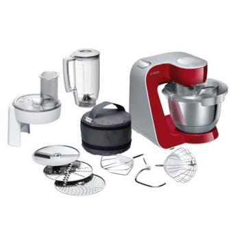 Robot De Cocina Bosch Mum58720 Rojo