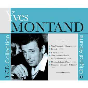 6 Original Albums. Yves Montand