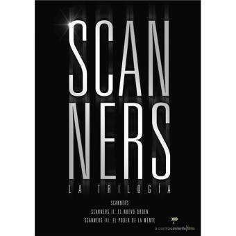Pack Scanners: La trilogía - DVD