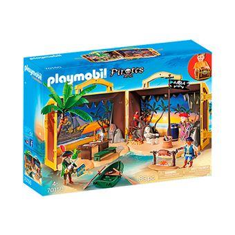 Playmobil Pirates Isla pirata maletín