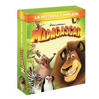 Pack Madagascar 1-3 - Blu-Ray