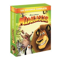 Pack Madagascar 1-3 - Blu-Ray