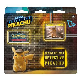 Caja archivo del Caso de detective Pikachu Asmodee