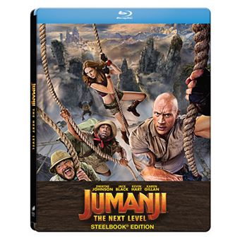 Jumanji: El siguiente Nivel - Steelbook Blu-ray