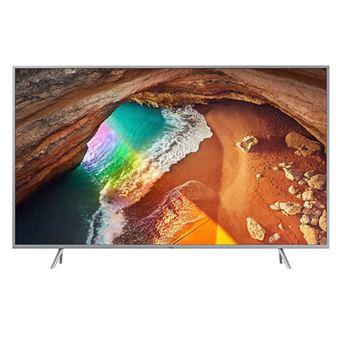 TV QLED 55'' Samsung QE55Q65R IA 4K UHD HDR Smart TV Plata