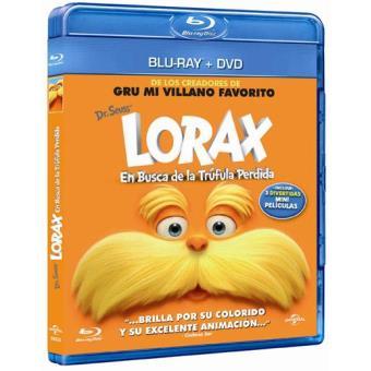 Lorax, en busca de la trúfula perdida - Blu-Ray + DVD