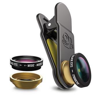 Lente Black Eye 3 en 1 Lens kit