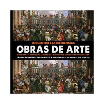 Encuentra Las Diferencias Obras De Arte 5 En Libros Fnac