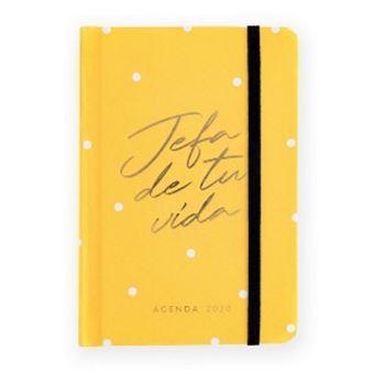 Agenda Charuca 2020 Día por Página Mini Jefa Yellow