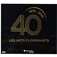 Les Arts Florissants 40 Ans - 3 CD