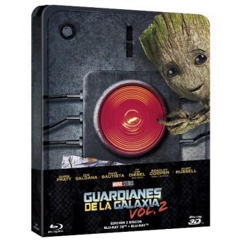 Guardianes de la galaxia Vol. 2 - Steelbook Blu-Ray + 3D