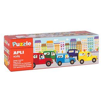 Puzzle Apli Juega a sumar transportes
