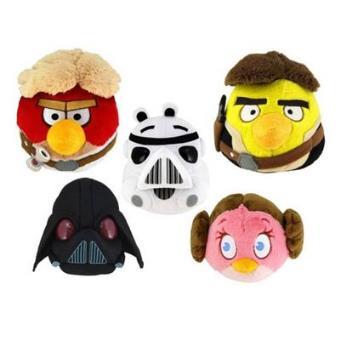 Star WarsPeluche Angry birds - Star Wars (13 cm) <STRONG><FONT color=darkred>* No se podrá elegir modelo.</FONT></STRONG>