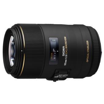 Objetivo Sigma 105mm f2.8 EX DG HSM OS Macro para Nikon