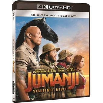 Jumanji: Siguiente nivel - UHD + Blu-Ray