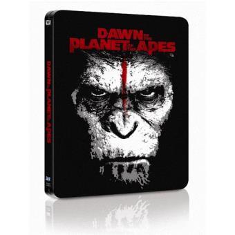 El amanecer del planeta de los simios - Steelbook Blu-Ray 3D + 2D - Exclusiva Fnac