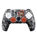 Funda + Grips de silicona FR-TEC Gris camuflaje para PS5