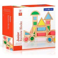 Bloques Arco Iris Junior Guidecraft - Kit de 20 piezas