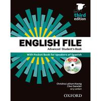 Pack English File: Advanced Student's Book and Workbook with Key (3rd edition)