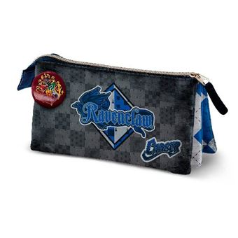 Estuche portatodo triple Harry Potter Quidditch Ravenclaw