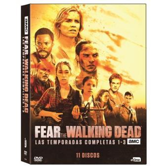 Fear The Walking Dead - Temporadas 1-3 - DVD