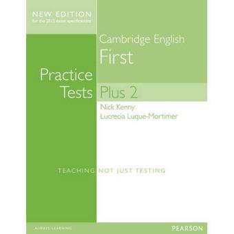 Cambridge First: Practice Tests Plus 2. Student's Book With Key. Con espansione online