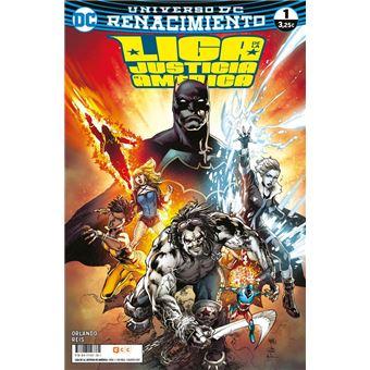 Liga de la Justicia de América núm. 01 (Renacimiento) Grapa