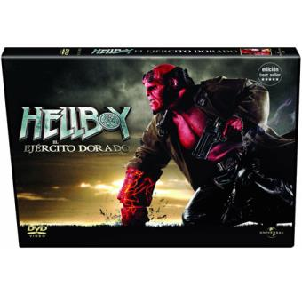 Hellboy 2: El ejército dorado - DVD Ed Horizontal