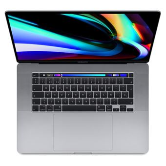 Apple Macbook Pro 16'' i7 2.6GHz 512GB Touch Bar Gris espacial