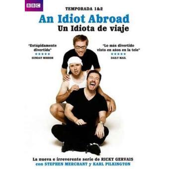 An Idiot Abroad - Un idiota de viaje - Temporadas 1 y 2 - DVD
