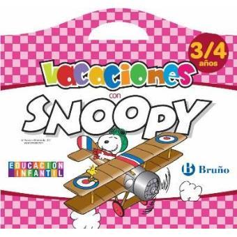 Vacaciones con Snoopy 3- 4 años