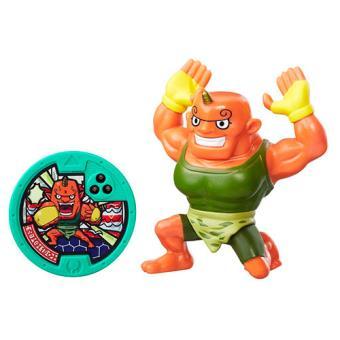 Figura con medalla Yo-Kai Watch Sergent Burly