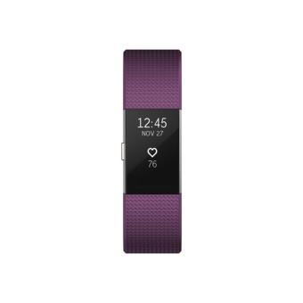 Smartband Fitbit Charge 2 Ciruelo/Plata - Talla L