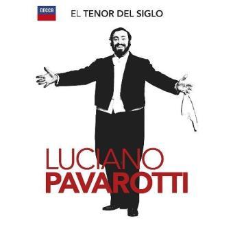 El tenor del siglo. Luciano Pavarotti (2 CD + DVD)