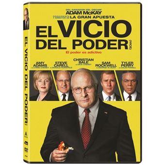 El vicio del poder - DVD