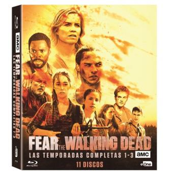 Fear The Walking Dead  Temporadas 1-3 - Blu-Ray