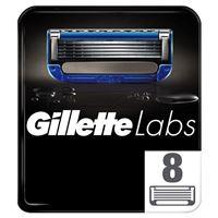 8 Recambios de Hojas de afeitar GilletteLabs para Heated Razor