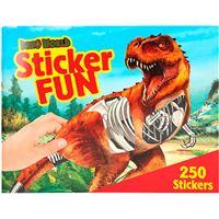 Libro de sticks Despeche Dino World Sticker-fun