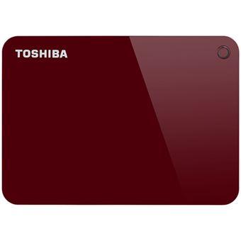 Disco duro portátil Toshiba Canvio Advance 1TB 2,5'' Rojo