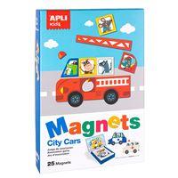 Juego magnético Coches Apli Kids