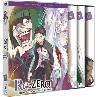 Re: Zero - Parte 2 Episodios 14 a 25 - DVD